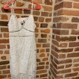 Bardot style dress